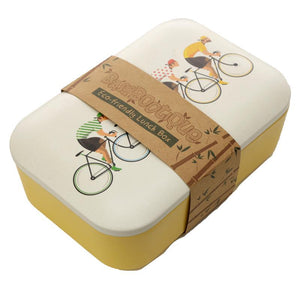 Cycle Works Cycling Bamboo Lunch Box lunchbox BambooBeautiful