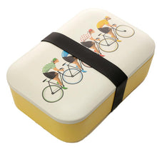 Load image into Gallery viewer, Cycle Works Cycling Bamboo Lunch Box lunchbox BambooBeautiful