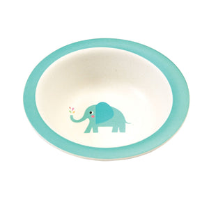 Elvis the Elephant Bamboo Fibre Bowl BambooBeautiful
