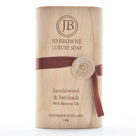 Jo Browne Luxury Soap with Bamboo Silk BambooBeautiful Ltd Sandalwood & Earthy Patchoulli