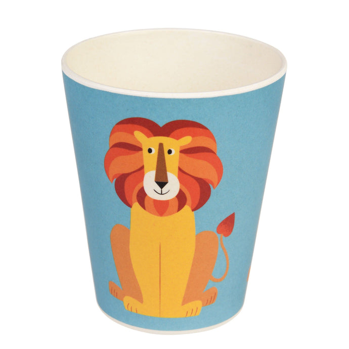 Kids Bamboo Beaker - Charlie The Lion Cup BambooBeautiful