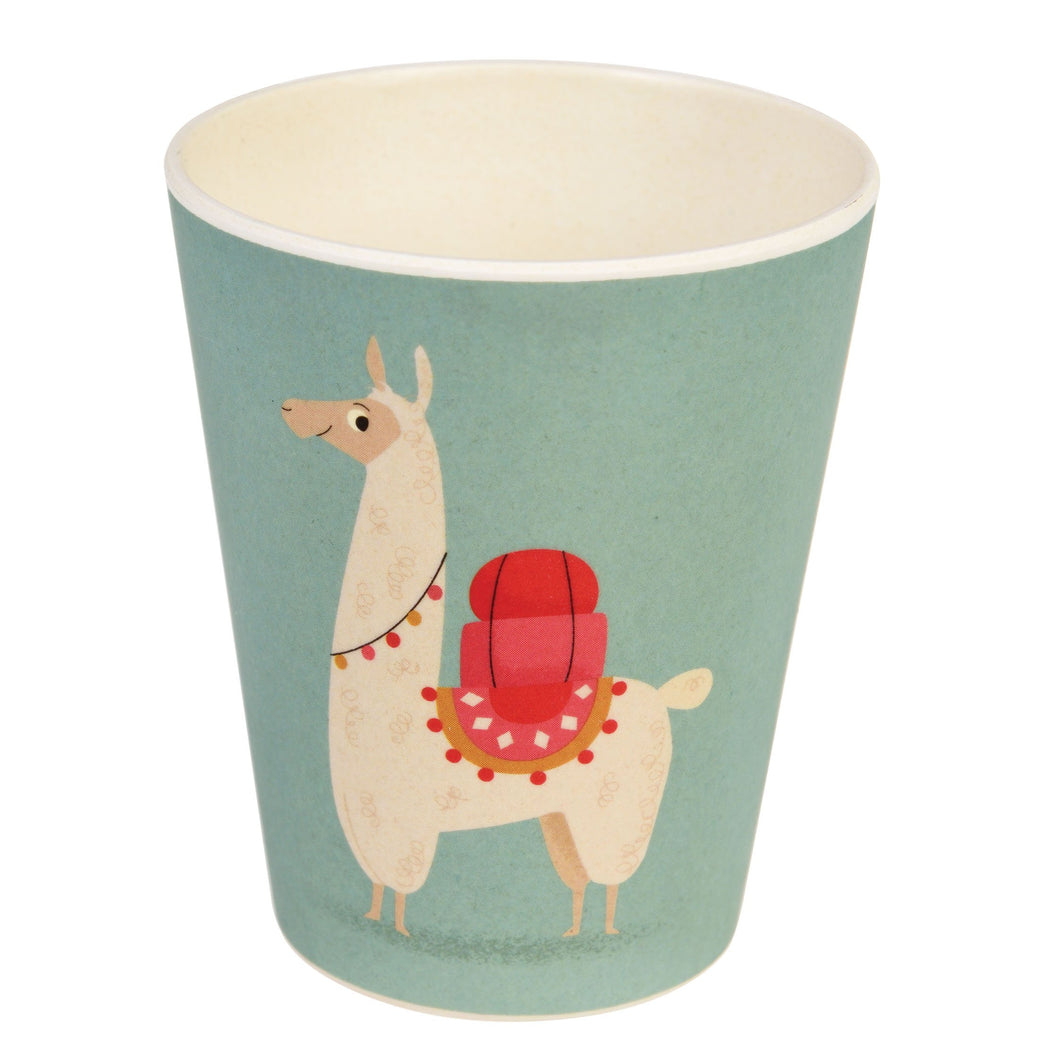 Kids Bamboo Beaker - Dolly Llama Cup BambooBeautiful