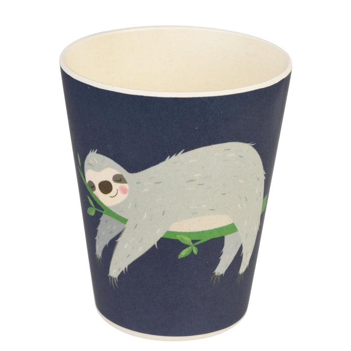 Kids Bamboo Beaker - Sydney The Sloth Cup BambooBeautiful