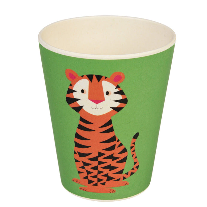 Kids Bamboo Beaker - Teddy The Tiger Cup BambooBeautiful