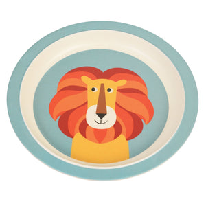 Kids Bamboo Plate - Charlie The Lion plates BambooBeautiful