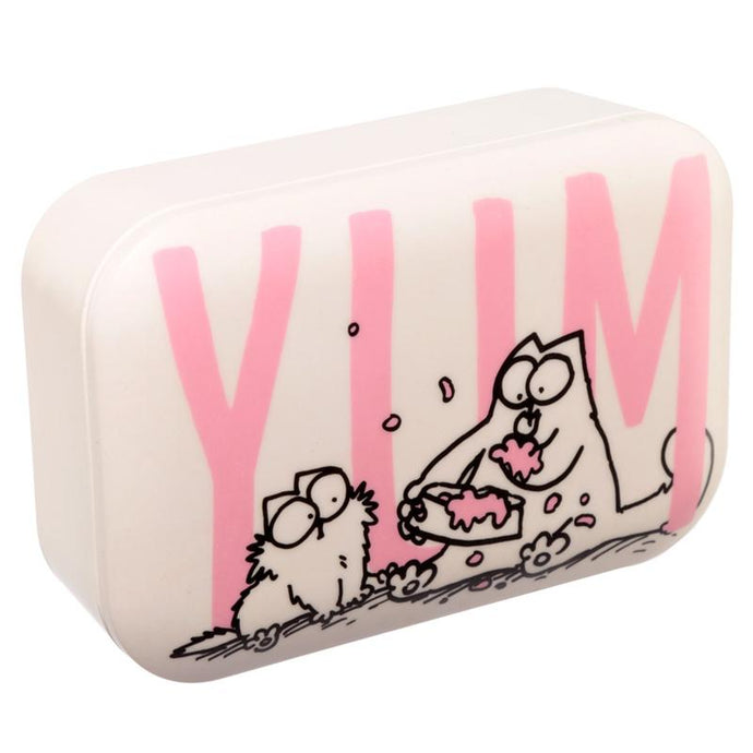 Simon's Cat Bamboo Lunch Box lunchbox BambooBeautiful