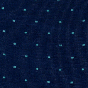 Slopes and Town Bamboo Socks - Turqoise Dotty BambooBeautiful Ltd