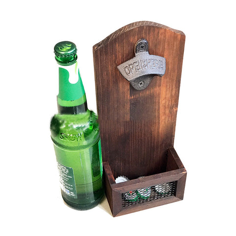 Vintage Wall Mounted Beer Bottle Opener