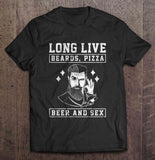 my-beer-life - Unisex - Long Live Beards Pizza Beer And Sex