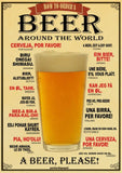 Retro Beer Posters