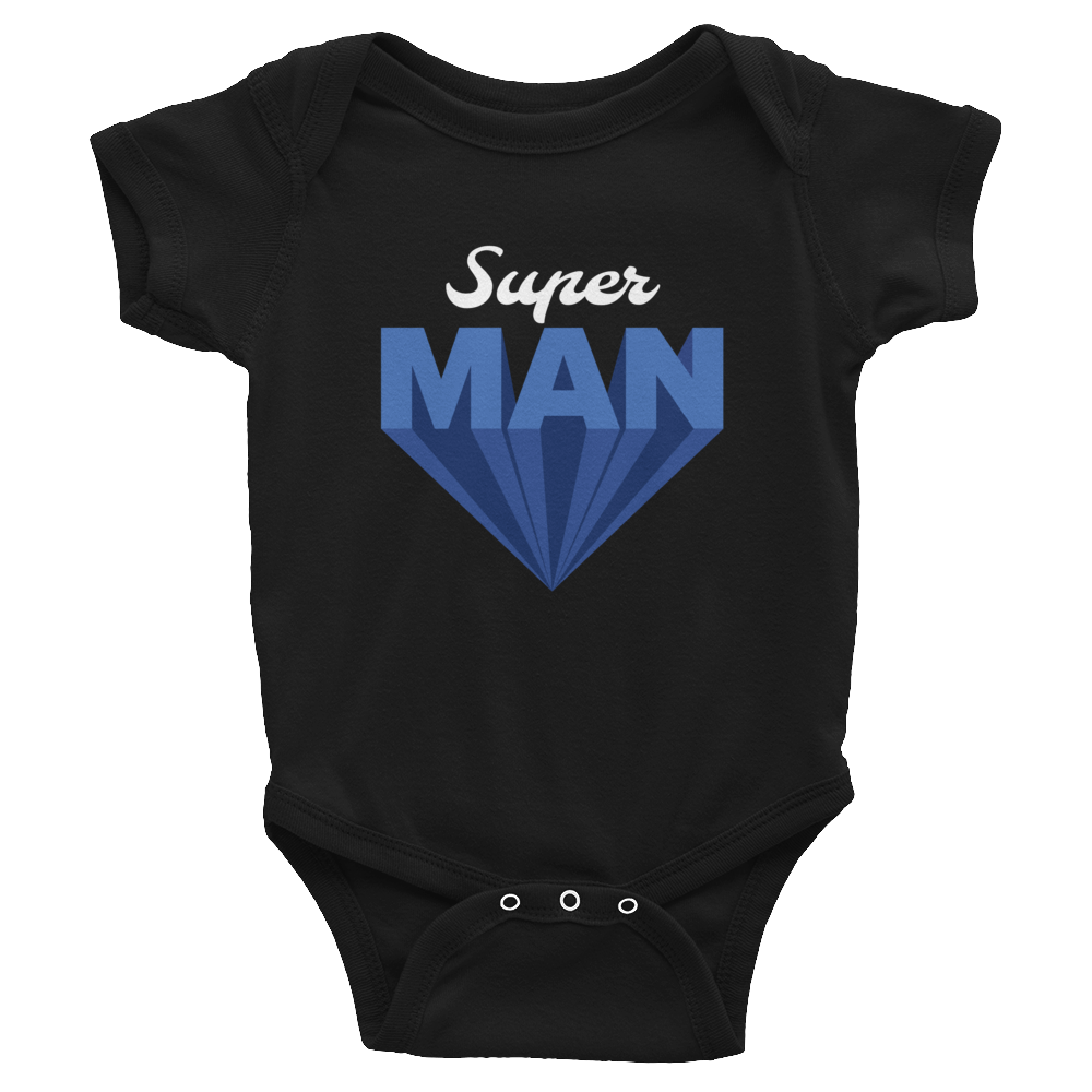 Super Man Infant Bodysuit