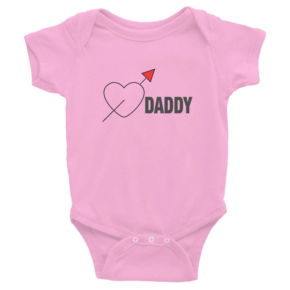 Love Daddy Infant Bodysuit
