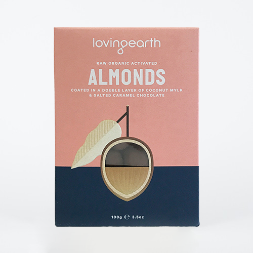 Loving Earth Mylk Coated Almonds 100g