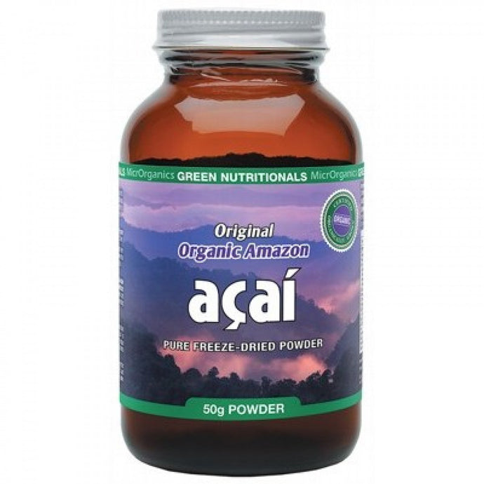 Green Nutritionals Organic Acai 50g
