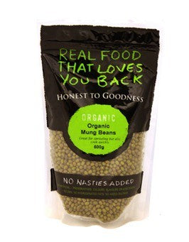Honest to Goodness Organic Mung Beans 500g
