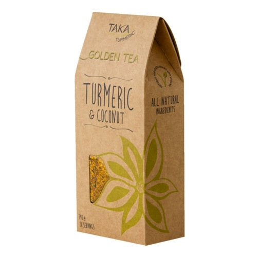 Taka Turmeric Golden Tea Turmeric & Coconut 140g