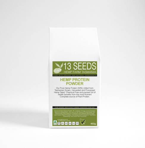 13 Seeds Hemp Protein Powder 450g