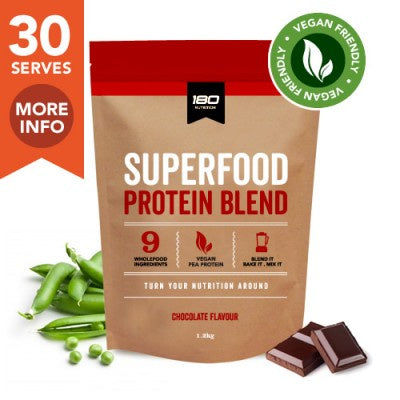 180 Nutrition Vegan Superfood Protein Chocolate 1.2kg