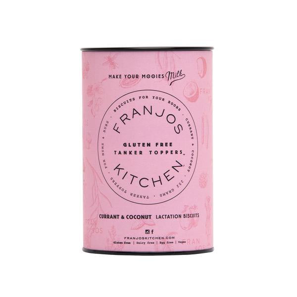 Franjo's Kitchen Currant &Coconut Gluten Free Lactation Biscuits