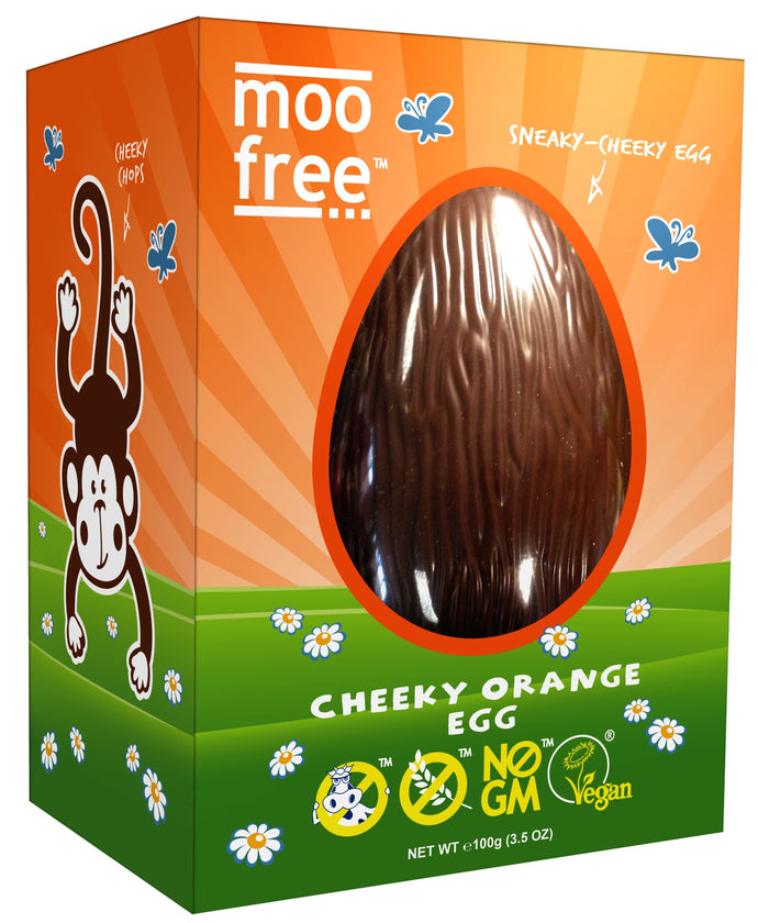 Moo Free Easter Egg Cheeky Orange 110g