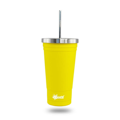 Cheeki Insulated Tumbler Lemon 500ml