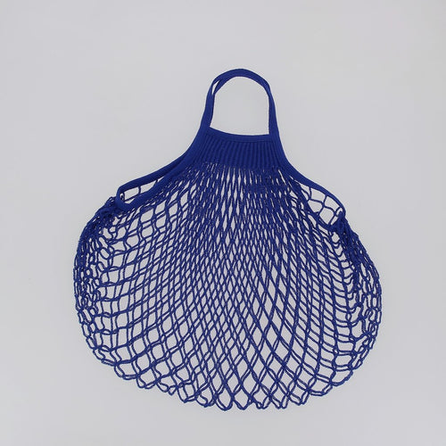 E String Bags Short Handle Blue