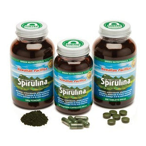 Green Nutritionals Hawaiian Spirulina 60caps