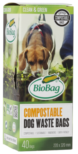 BioBag Dog Waste Bags Roll 40 Bags