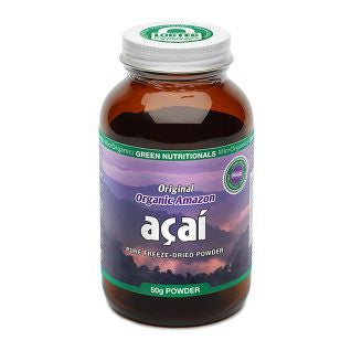 Green Nutritionals Organic Acai 150g