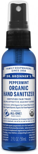 Dr Bronners Hand Sanitizer Peppermint 95ml