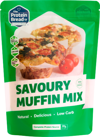 The Protein Bread Co Savoury Muffin Mix 340g