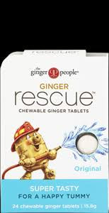The Ginger People Ginger Rescue Orignial 24 Tablets