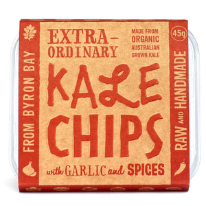 Extraordinary Foods Kale Chips Garlic & Spices
