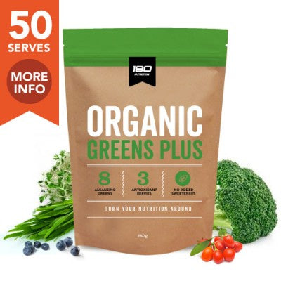 180 Nutrition Greens Plus 250g