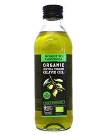 Honest to Goodness Organic Extra Virgin Olive Oil 500ml