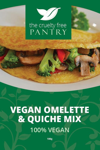 The Cruelty Free Pantry Omelette and Quiche Mix 100g