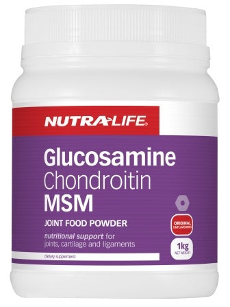 NutraLife Glucosamine Joint Food with MSM unflav 1kg