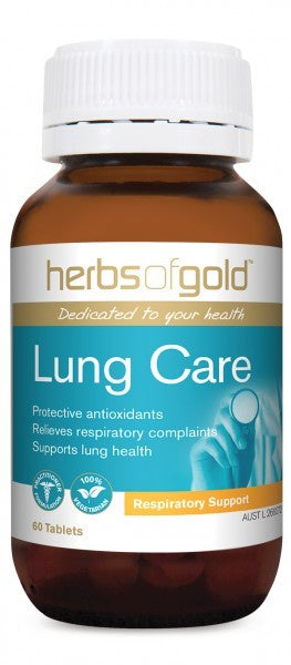 Herbs of Gold Lung Care 60tabs