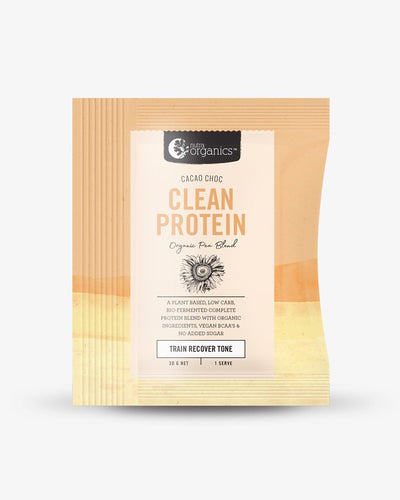 Nutra Organics Clean Protein Cacao Choc 30g