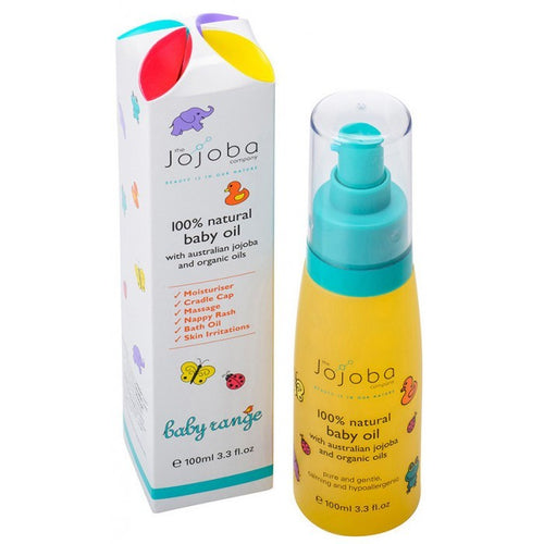The Jojoba Company Baby Oil 100ml