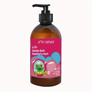 Tri Nature Kids Bubble Bath Raspberry 500ml