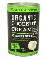 Honest to Goodness Organic Coconut Cream 400ml