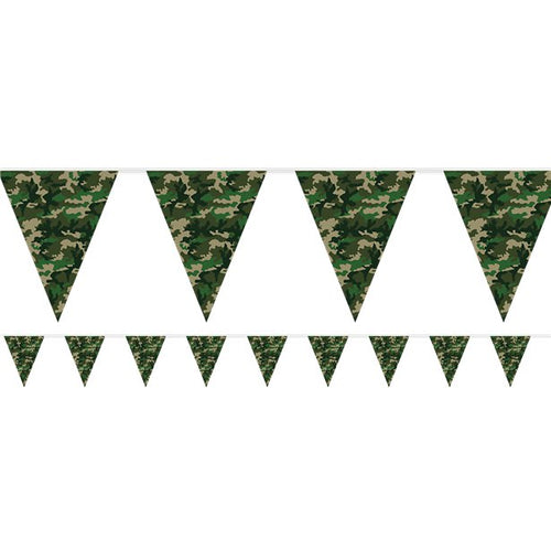 Camo Party Bunting