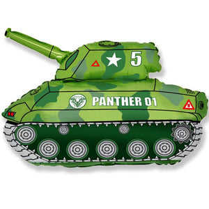 "31"" Army Panther Tank Foil Balloon"