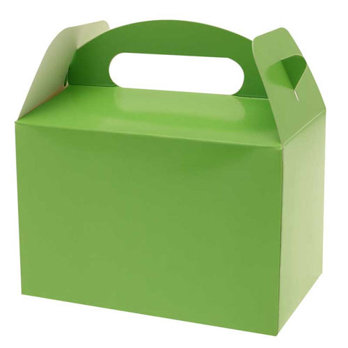 Green Party Box (Pack of 6)