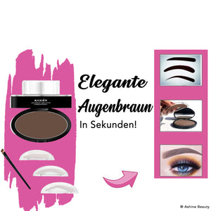 Lazy Eyebrows - Augenbraun Puderstempel - Ashine Beauty