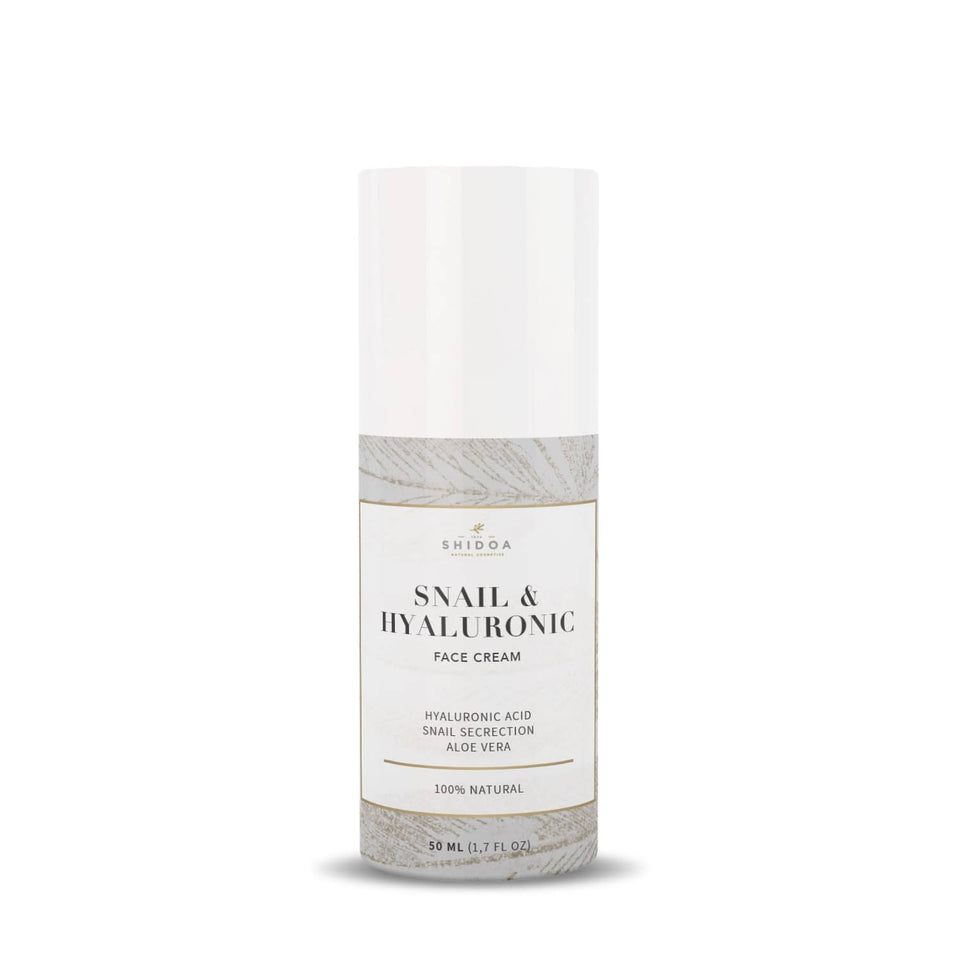 <transcy>Shidoa - Snail &amp; Hyaluronic Face Cream 50ml</transcy>