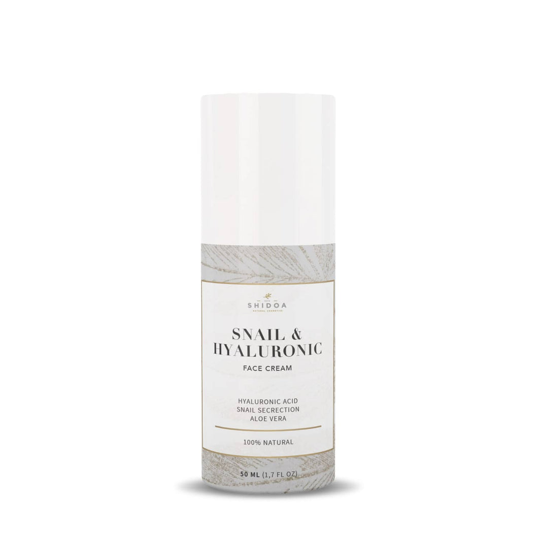 <transcy>Shidoa - Snail & Hyaluronic Face Cream 50ml</transcy>