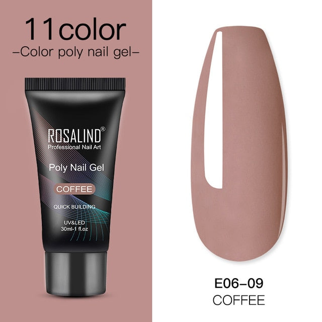 Polygel Nail Extension Farben by Rosalind
