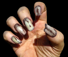 Prosthetic Zombie fingernails